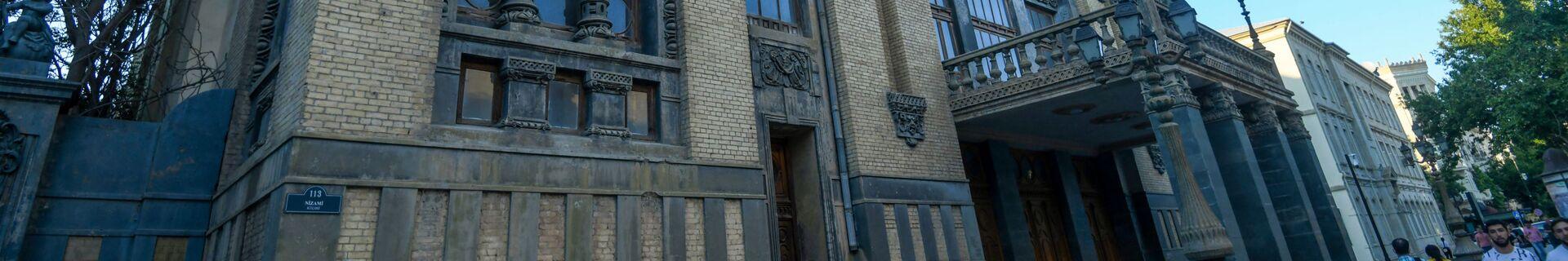 Уникальные бакинские здания, созданные в стиле модерн - Sputnik Azərbaycan