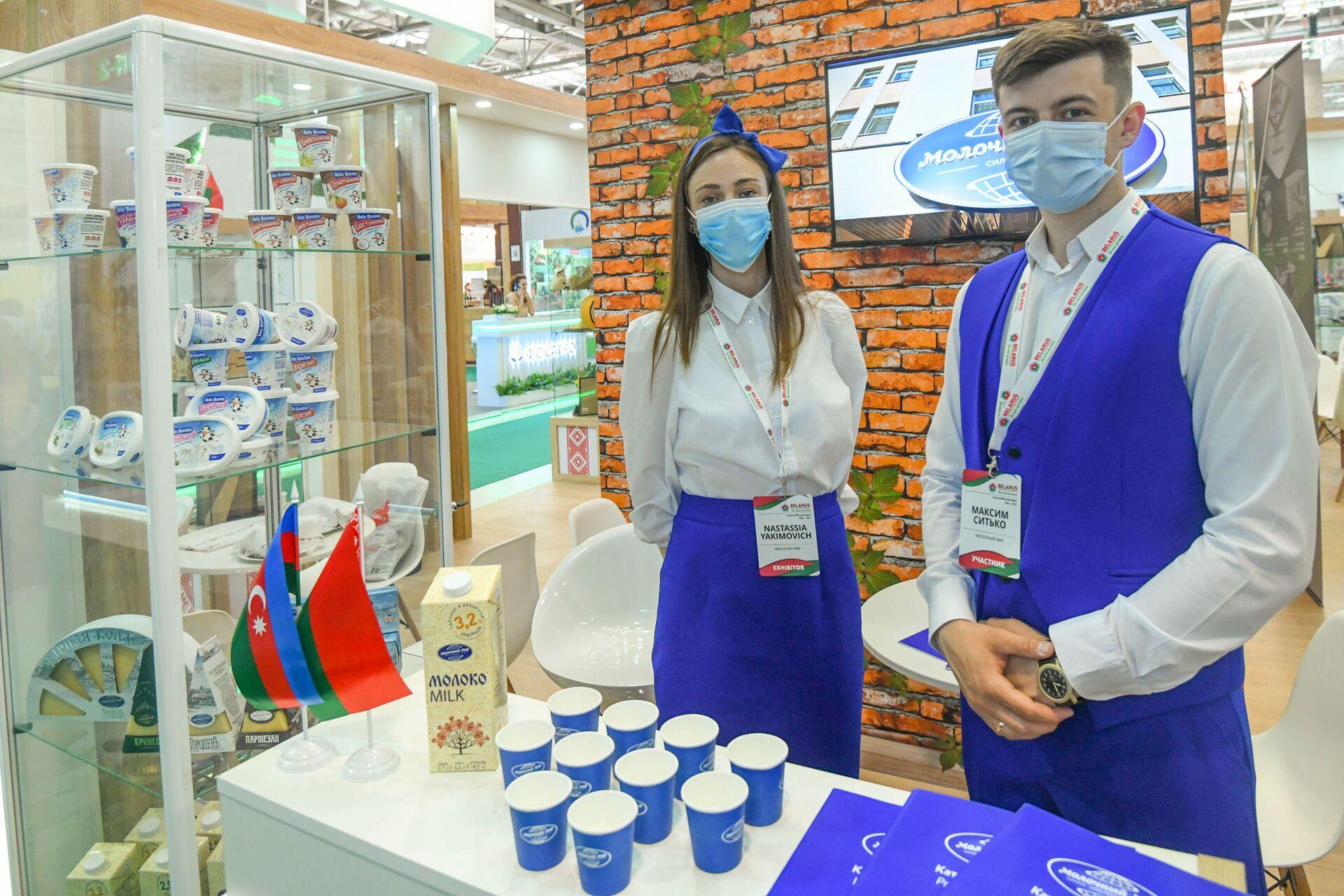 С чем пришли в Азербайджан производители из России – обзор первой оффлайн выставки - Sputnik Азербайджан, 1920, 10.06.2021