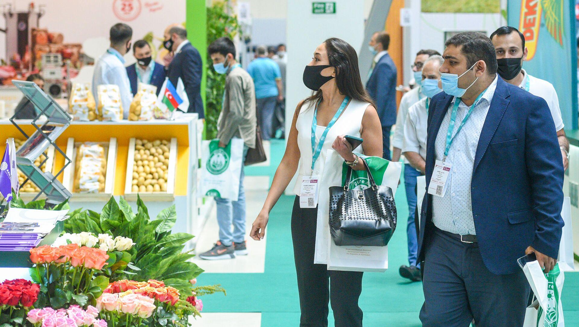14-я Азербайджанская международная сельскохозяйственная выставка Caspian Agro-2021 и 26-я Азербайджанская международная выставка пищевой промышленности InterFood Azerbaijan-2021 - Sputnik Азербайджан, 1920, 14.06.2021