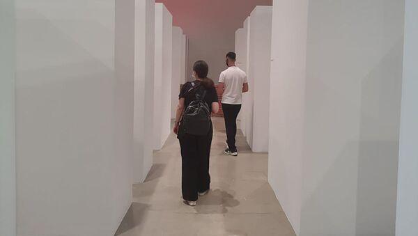 Выставка Рашада Алакбарова Ты сам и есть! в Пространстве современного искусства YARAT - Sputnik Азербайджан