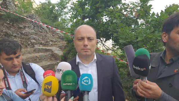 Министр культуры Азербайджанской Республики Анар Керимов - Sputnik Азербайджан