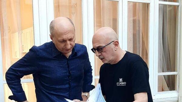Всемирно известный хореограф посетил Центр творчества Максуда Ибрагимбекова в Баку - Sputnik Азербайджан