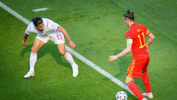Игровой момент матча ЕВРО-2020 Уэльс - Швейцария - Sputnik Azərbaycan