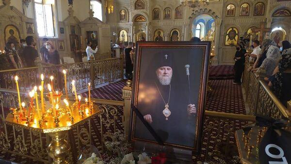 Церемония прощания с отцом Александром в Баку - Sputnik Азербайджан