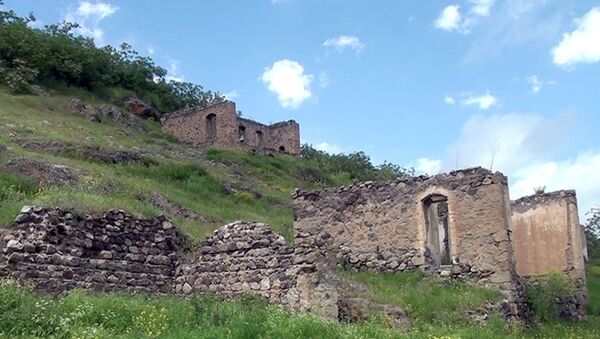 Село Ахмедли Лачинского района Азербайджана - Sputnik Азербайджан