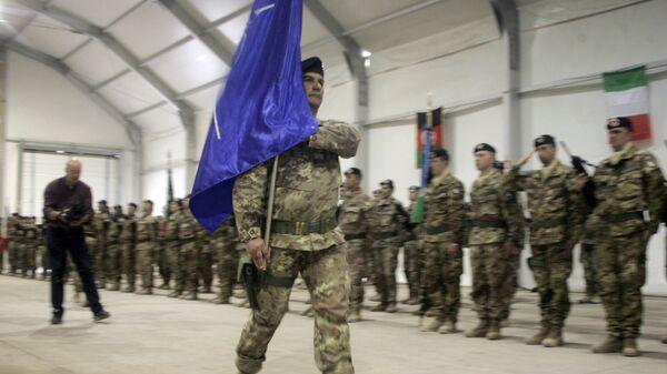 NATO bayrağı - Sputnik Azərbaycan