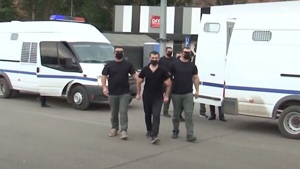 Передача Еревану армянских военных  - Sputnik Азербайджан
