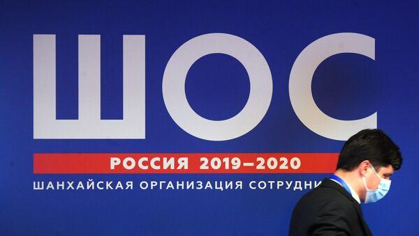 Участник заседания Совета национальных координаторов государств Шанхайской организации сотрудничества (СНК ШОС) в Москве. - Sputnik Азербайджан