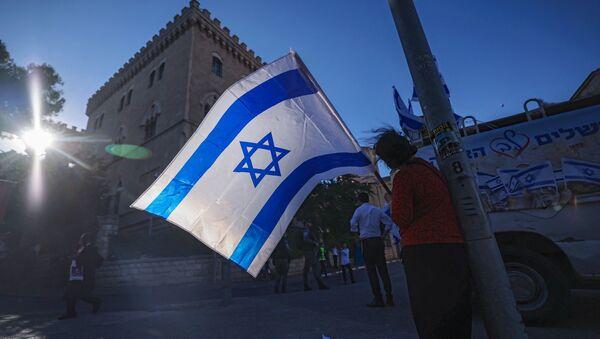 İsrail bayrağı - Sputnik Азербайджан