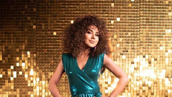 Азербайджанская певица Мехин Гумбатова, фото из архива - Sputnik Азербайджан