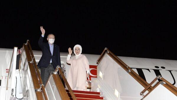 Завершился визит Президента Турции Реджепа Тайипа Эрдогана в Азербайджан - Sputnik Азербайджан