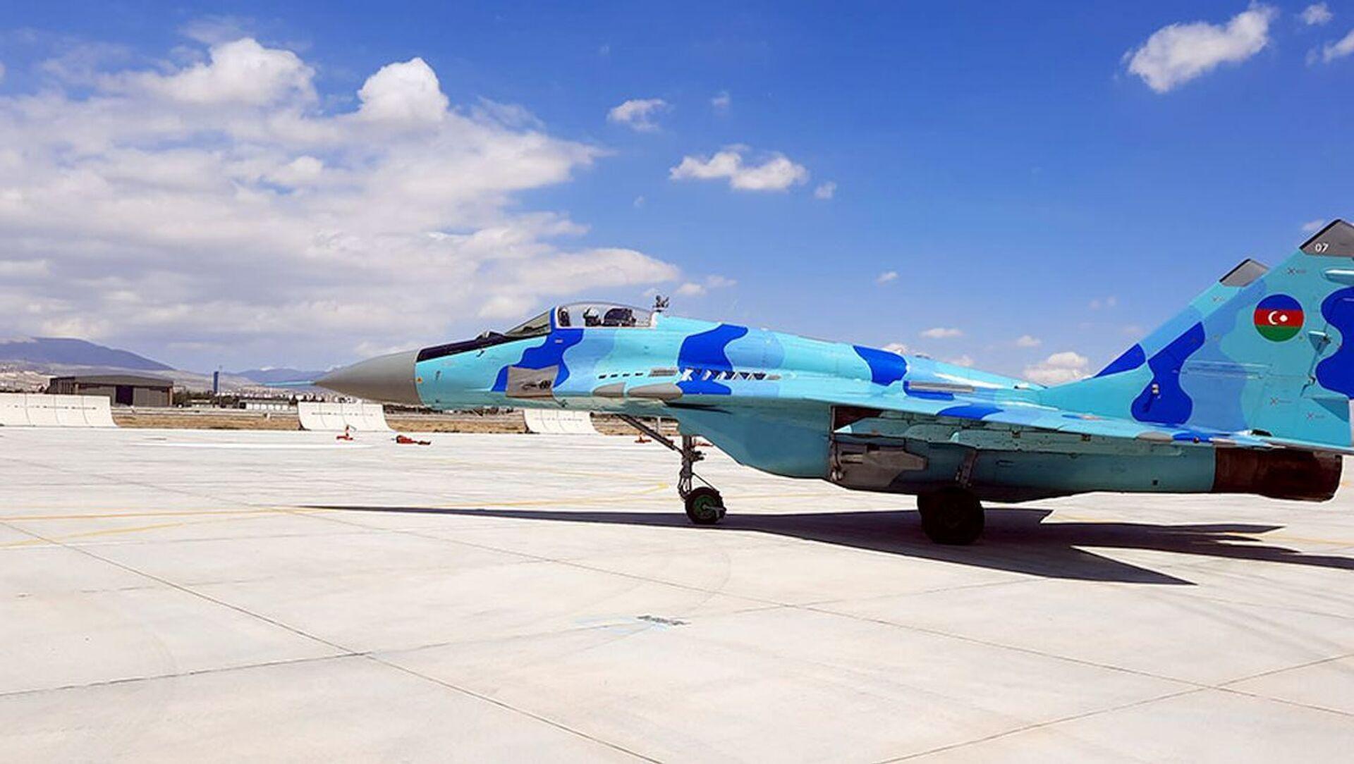 ВВС Азербайджана готовятся к учениям Анатолийский орел – 2021 - Sputnik Азербайджан, 1920, 01.09.2021