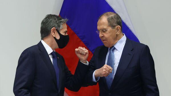 Визит главы МИД РФ С.Лаврова в Исландию - Sputnik Азербайджан