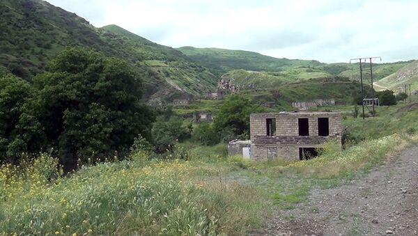 Qalaça kəndində - Sputnik Азербайджан