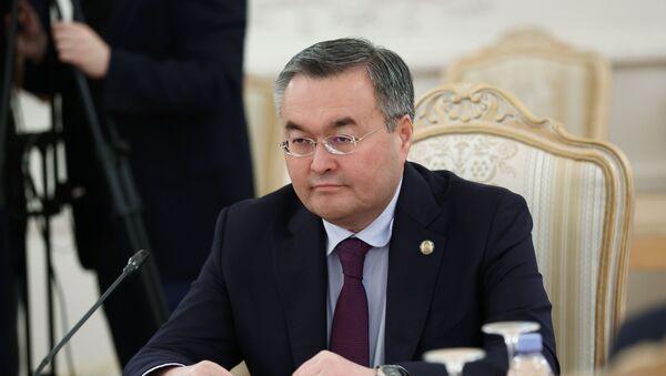 Министр иностранных дел Казахстана Мухтар Тлеуберди - Sputnik Азербайджан