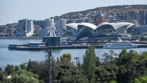 Торгово-развлекательный комплекс Caspian Waterfront Mall в Баку - Sputnik Азербайджан