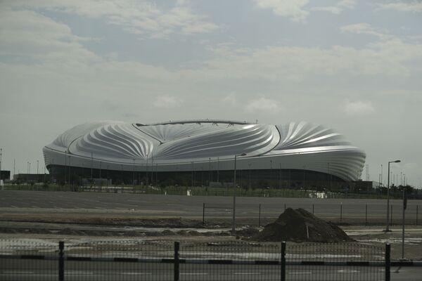 Вид на стадион Аль-Джануб - Sputnik Азербайджан