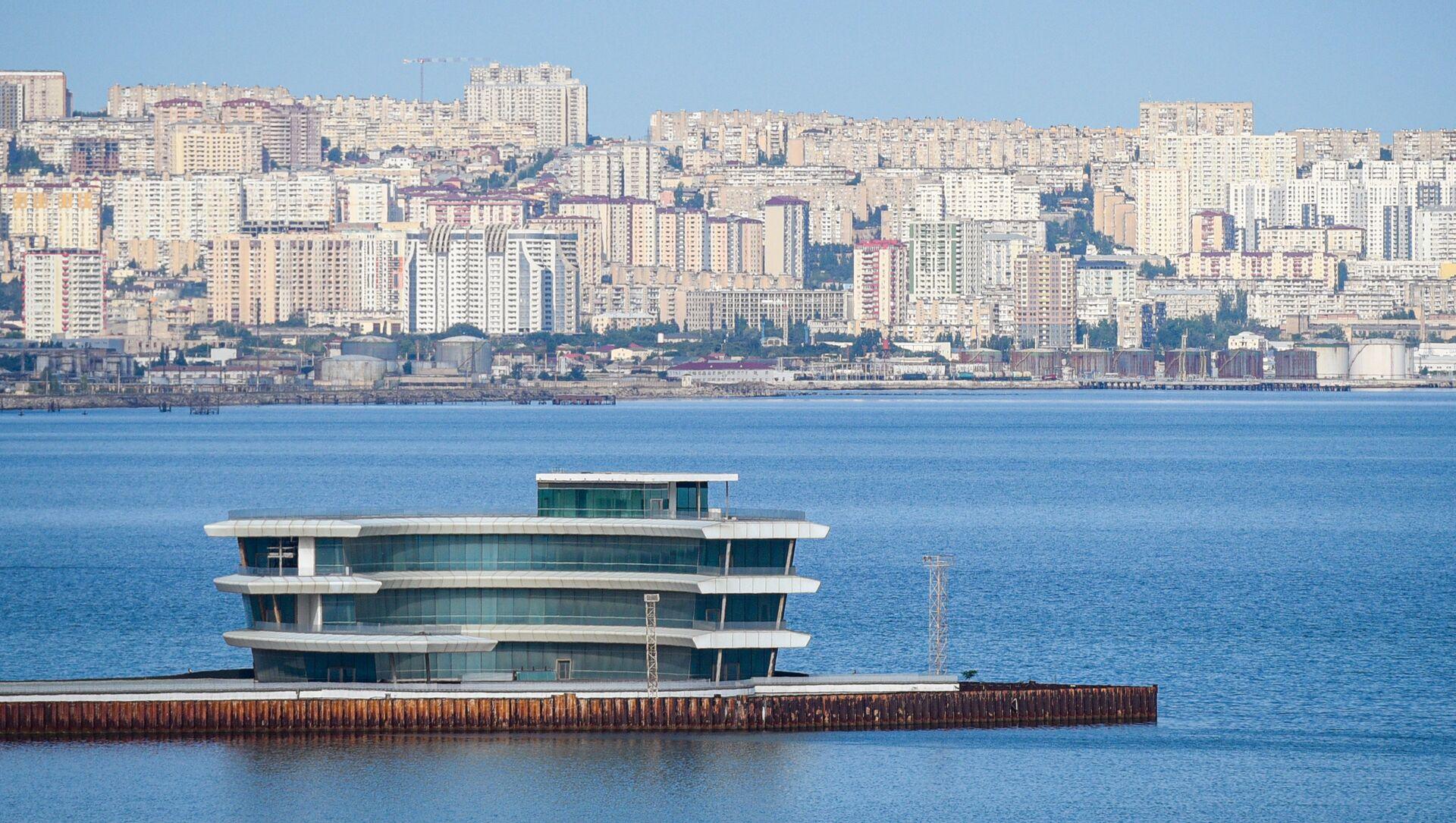 Вид на город Баку, фото из архива - Sputnik Азербайджан, 1920, 09.08.2021