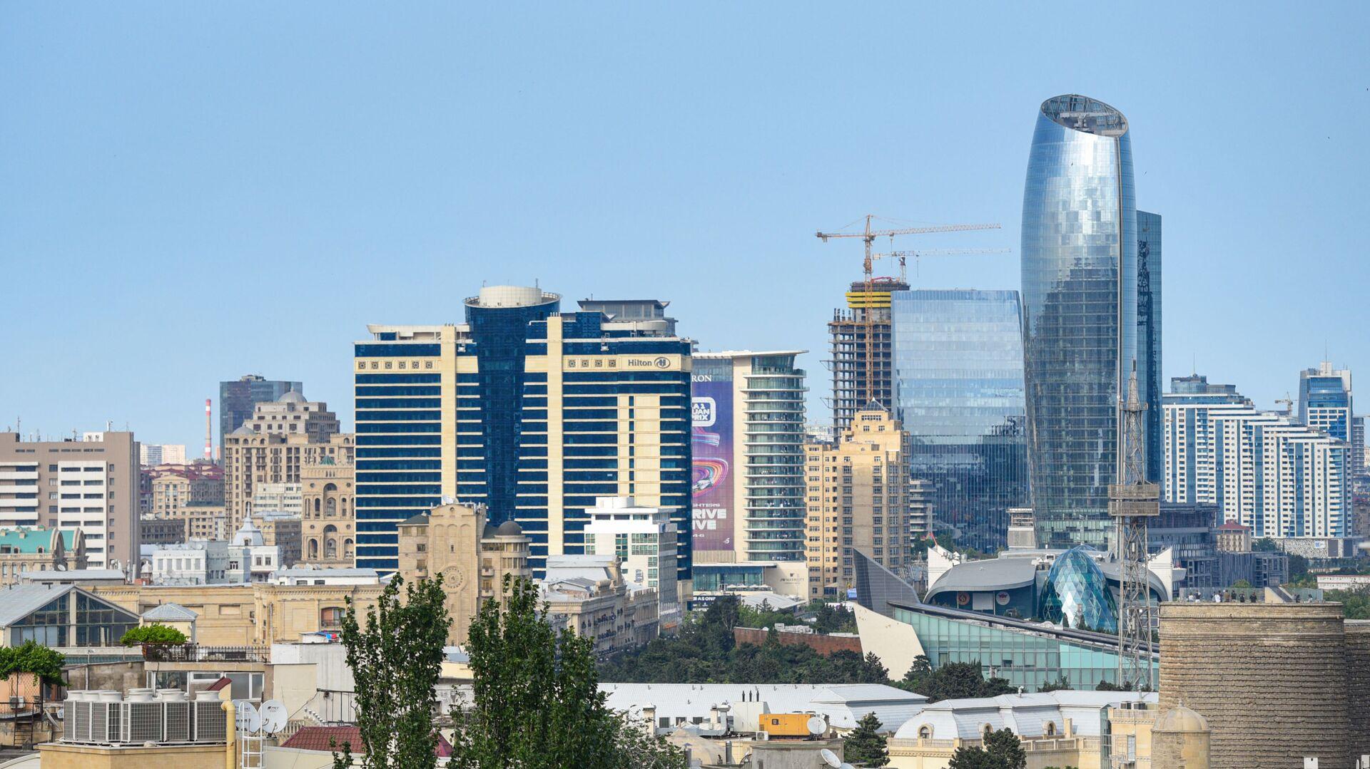 Вид на город Баку, фото из архива - Sputnik Азербайджан, 1920, 13.09.2021