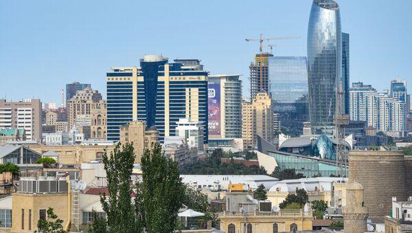 Вид на город Баку, фото из архива - Sputnik Азербайджан
