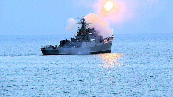 Тактические учения Военно-морских сил (ВМС) Азербайджана - Sputnik Азербайджан