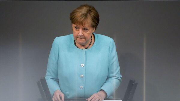 Канцлер Германии Ангела Меркель, фото из архива - Sputnik Азербайджан