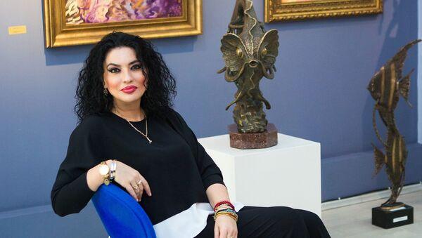 Азербайджанская писательница Лала Умуд - Sputnik Азербайджан