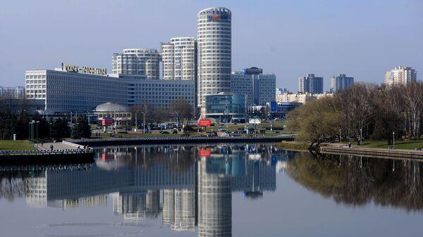 Вид на город Минск, фото из архива - Sputnik Азербайджан