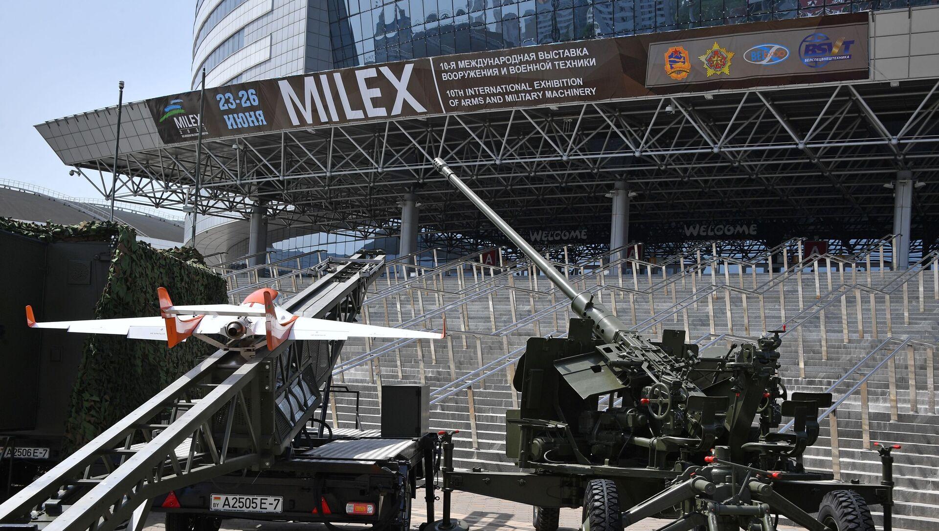 Minskdə MILEX–2021 - Sputnik Азербайджан, 1920, 24.06.2021