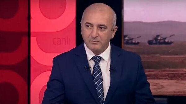 Hərbi ekspert Ədalət Verdiyev  - Sputnik Azərbaycan