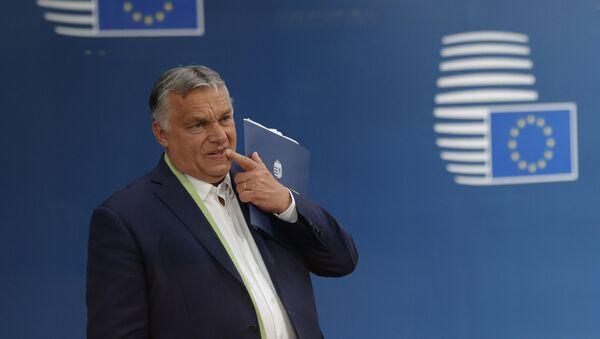 Премьер-министр Венгерской Республики Виктор Орбан, 25 июня 2021 года - Sputnik Азербайджан