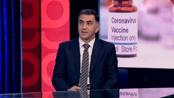 İnfeksionist Vüqar Cavadzadə - Sputnik Азербайджан