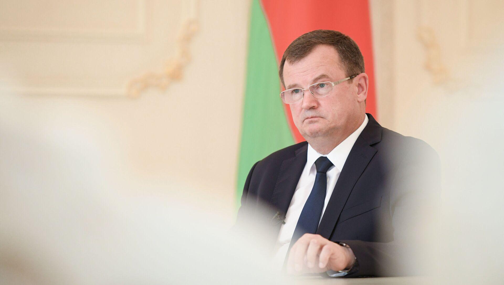 Посол Беларуси в Азербайджане Андрей Равков - Sputnik Азербайджан, 1920, 03.07.2021