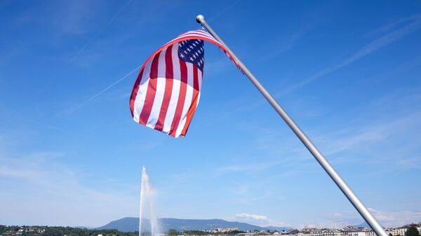 Флаг США, фото из архива - Sputnik Азербайджан