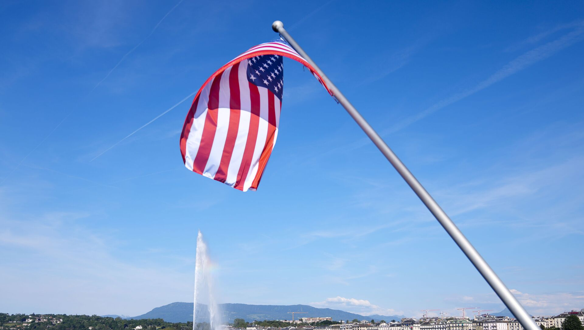 Флаг США, фото из архива - Sputnik Азербайджан, 1920, 06.08.2021