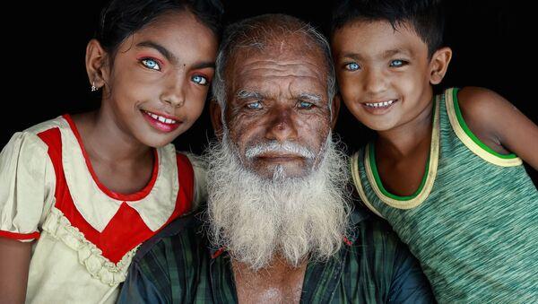 Работа бангладешского фотографа Muhammad Amdad Hossain Прекрасные глаза, вошедшая в шорт-лист конкурса имени Андрея Стенина в категории  Портрет. Герой нашего времени, одиночные фотографии - Sputnik Azərbaycan