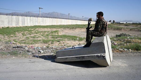 Авиабаза Баграм, Афганистан, фото из архива - Sputnik Азербайджан