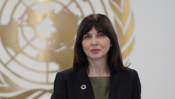 Владанка Андреевна координатор ООН в Азербайджане. - Sputnik Азербайджан