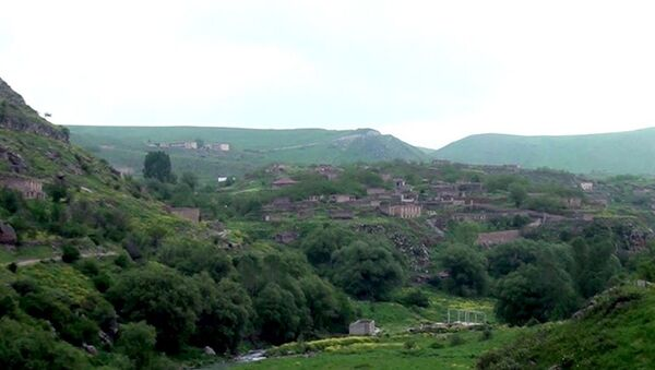 Laçın rayonunun Minkənd kəndi - Sputnik Азербайджан