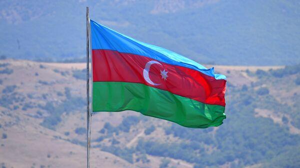 Şuşada Azərbaycan bayrağı - Sputnik Azərbaycan