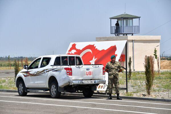 Совместный российско-турецкий мониторинговый центр в Агдаме - Sputnik Азербайджан