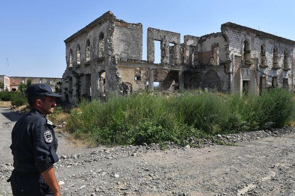 Ağdamda - Sputnik Азербайджан