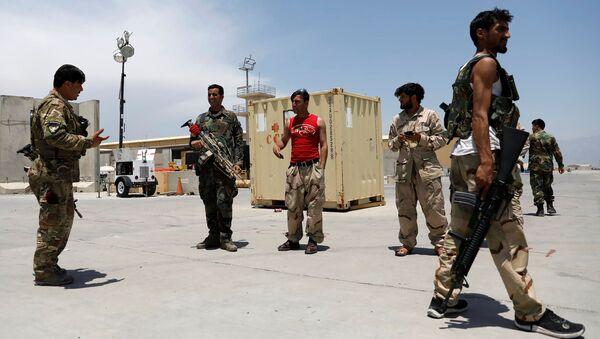 Военнослужащие армии Афганистана - Sputnik Азербайджан