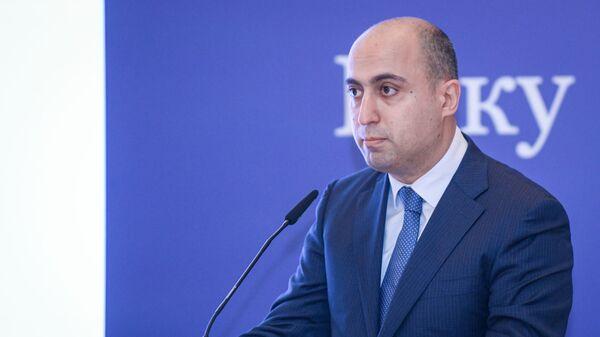 Министр образования Азербайджанской Республики Эмин Амруллаев - Sputnik Азербайджан