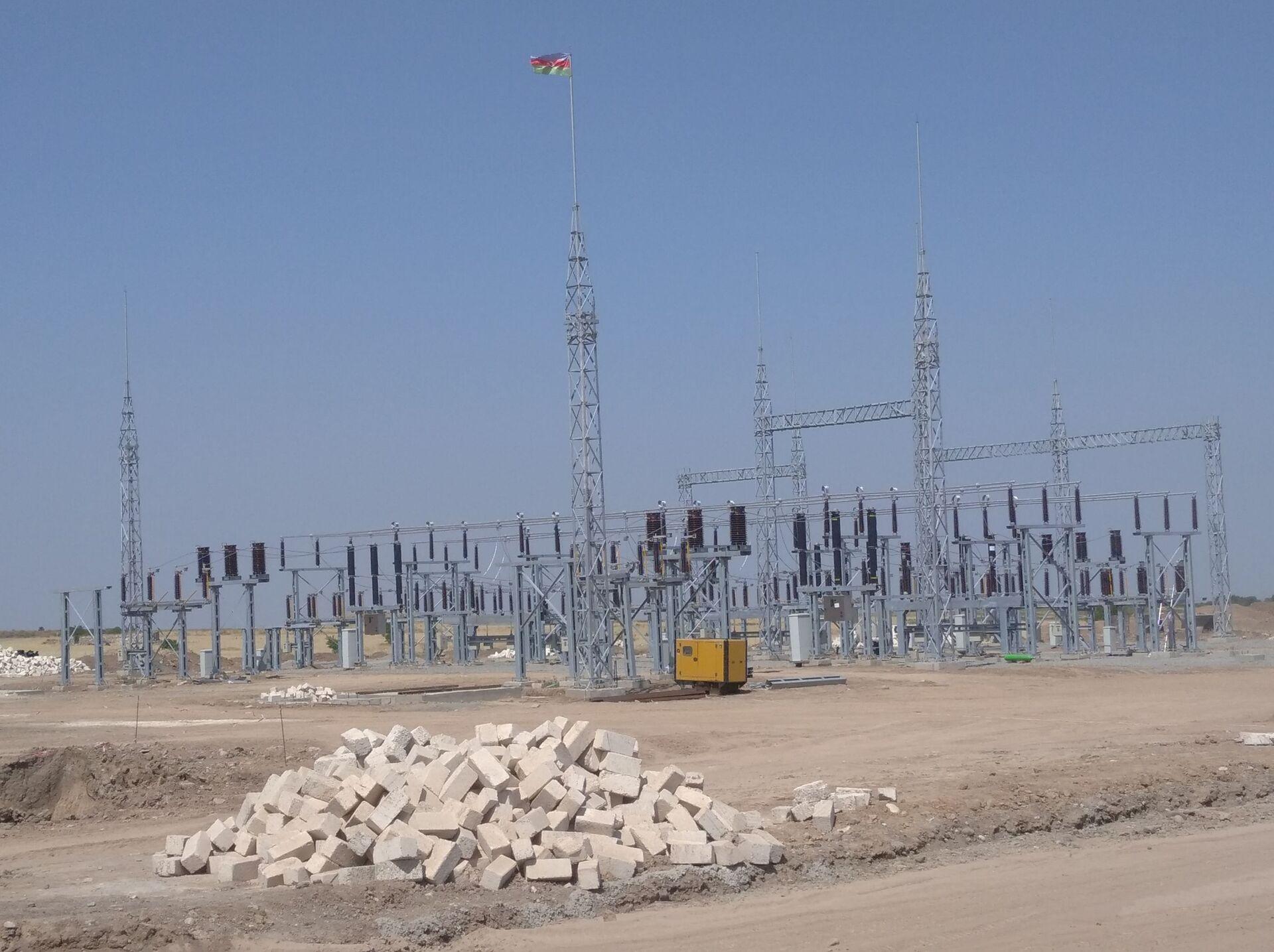 На освобожденных территориях до конца года заработают электроподстанции - Sputnik Азербайджан, 1920, 06.07.2021