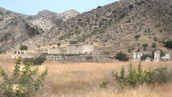 Çələbilər kəndində - Sputnik Азербайджан