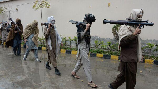 Бойцы движения Талибан, фото из архива - Sputnik Azərbaycan