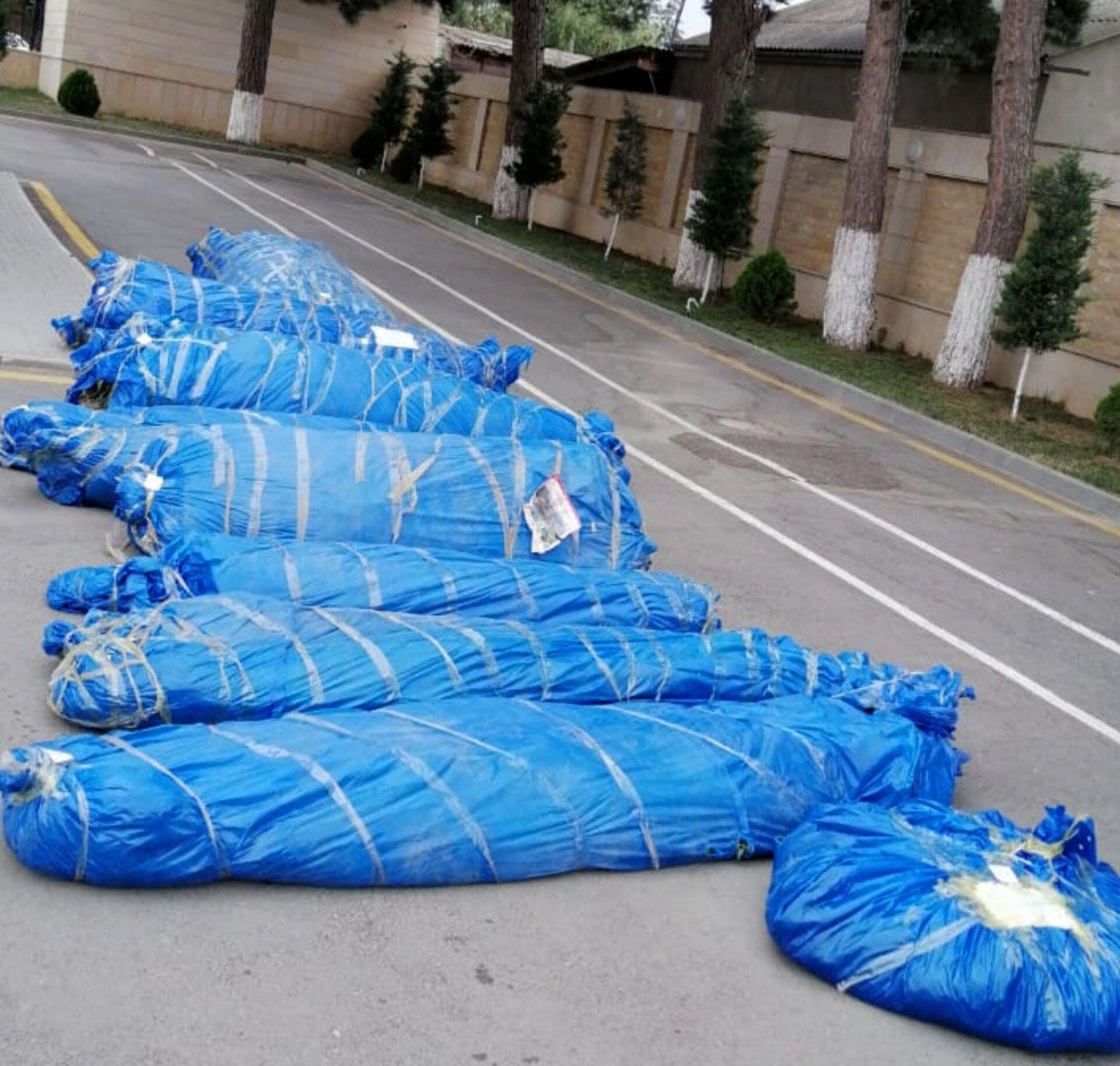 В Хачмазе попался коноплевод с несколькими тоннами продукции - Sputnik Азербайджан, 1920, 08.07.2021