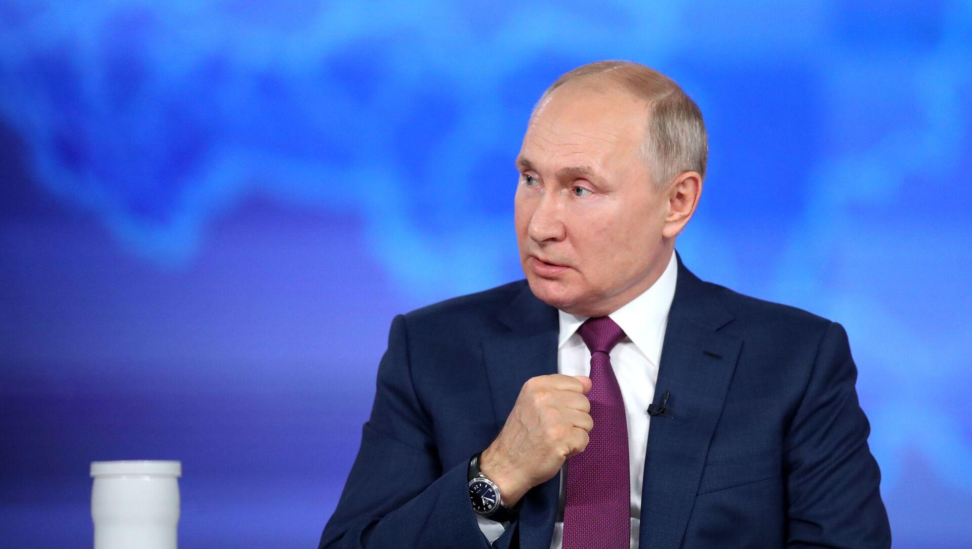 Rusiya prezidenti Vladimir Putin, 30 iyun 2021-ci il - Sputnik Azərbaycan, 1920, 03.09.2021