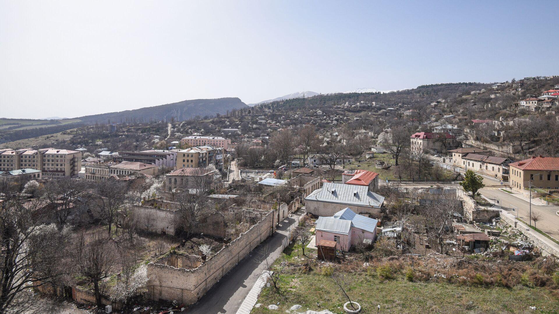 Вид на город Шуша, фото из архива - Sputnik Азербайджан, 1920, 06.09.2021